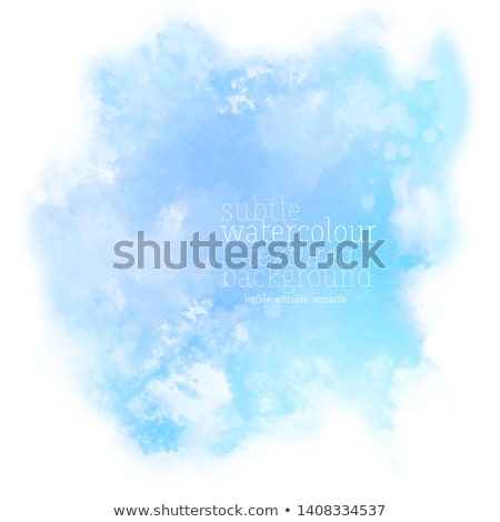 Grunge pastello blu eps vettore file Foto d'archivio © beholdereye