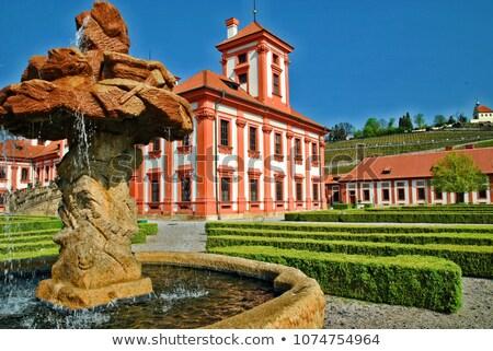 Troja Chateau Stock photo © jamdesign