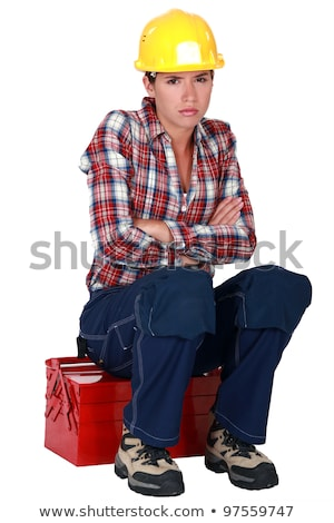 Irked construction worker Stock photo © photography33