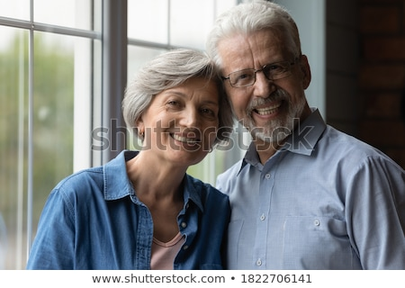 couple heads joined in profile Stock photo © photography33