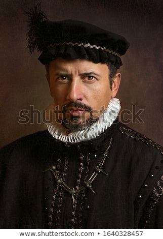 portrait of a man with hat stock photo © photography33