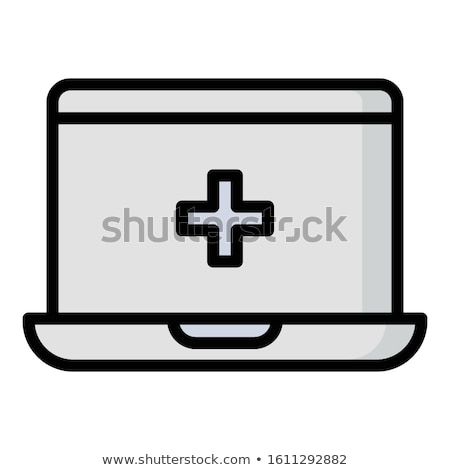 laptop first aid stock photo © spectral