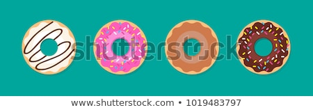 Donuts details apart voedsel kind Stockfoto © vladacanon