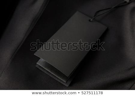 czarny · denim · dżinsy · tekstury · tkaniny · streszczenie - zdjęcia stock © imaster