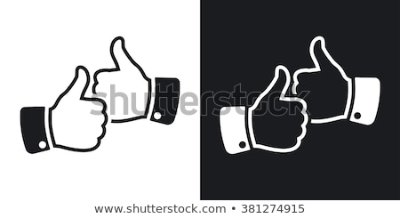 two thumbs up stock photo © lisafx