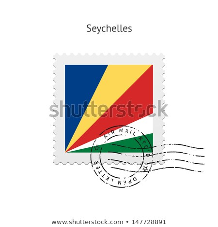 mail to-from Seychelles Stock photo © perysty