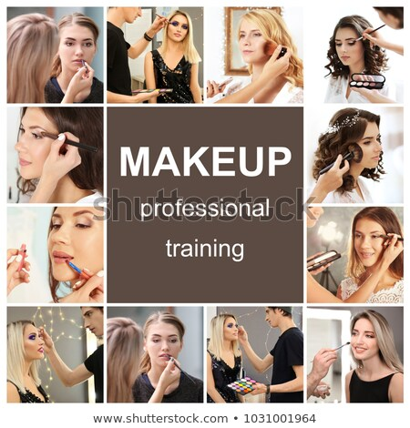 Componen jóvenes femenino estudio Foto stock © wavebreak_media