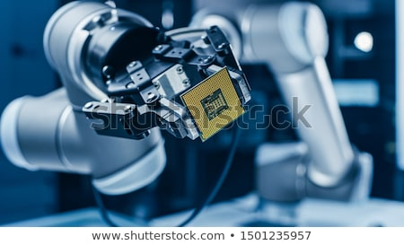 Produkcji komputerów technologii przemysłu komputera serwera Zdjęcia stock © OleksandrO