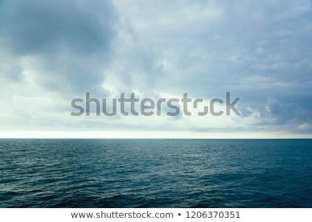 alpine · lac · vue · terres · ciel - photo stock © taden