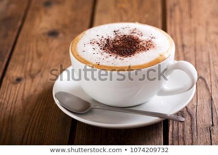 Cup · caldo · caffè · colazione · bere · coppe - foto d'archivio © escander81