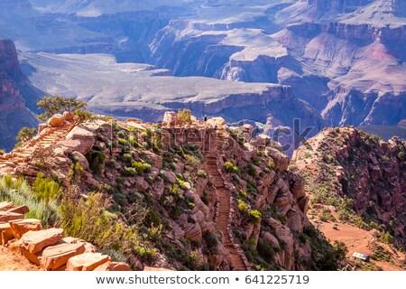 colorido · arenito · sul · Arizona · EUA · paisagem - foto stock © meinzahn