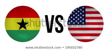 Ghana vs USA groep fase wedstrijd Stockfoto © smocker03