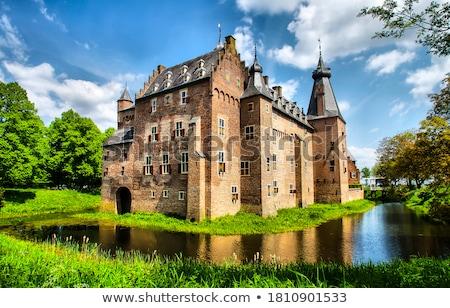 antigo · castelo · castelos · grande · alto · cidade - foto stock © thanarat27