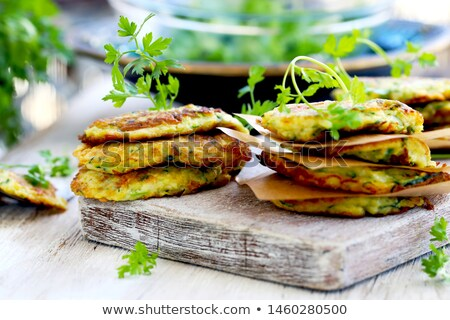 zucchini sandwich stock photo © vankad