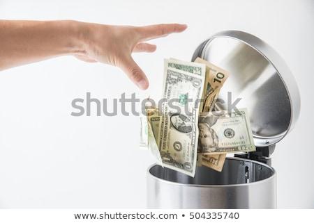 廃棄物 お金 ユーロ 通貨 ごみ ストックフォト © natika