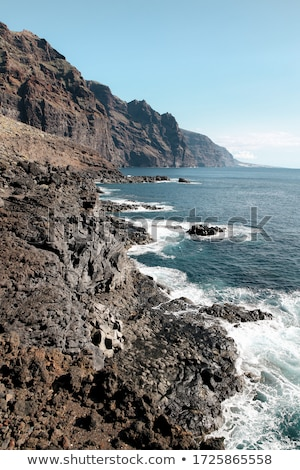 Photo stock: Dramatique · vue · monumental · rive · tenerife