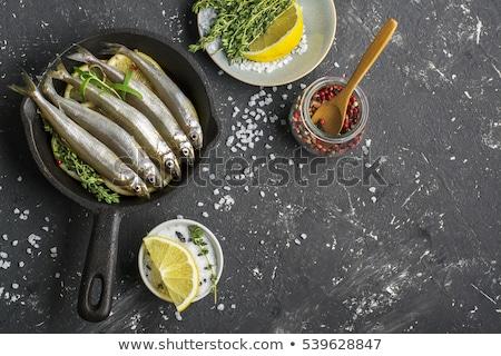 small fishes for sale stock photo © elxeneize