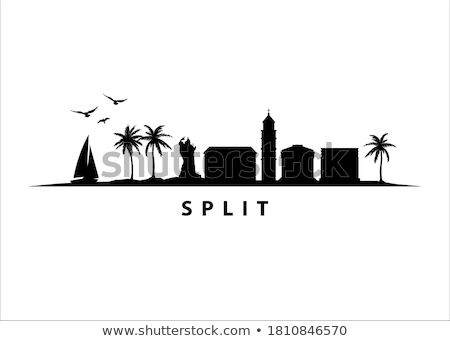 Split skyline Stock photo © joyr