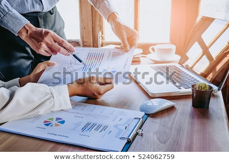 analysis report, business concepts Stock photo © vinnstock