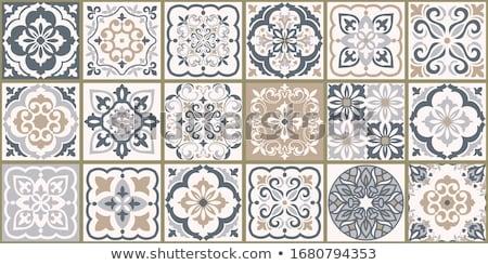 Rosolare · bianco · grigio · piastrelle · mosaico · texture foto d