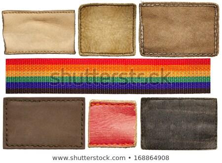 Homo vlag jeans weefsel textuur vector Stockfoto © gubh83