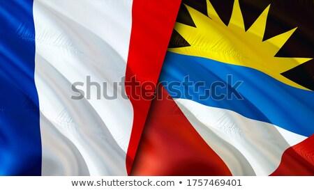 França bandeiras quebra-cabeça isolado branco negócio Foto stock © Istanbul2009