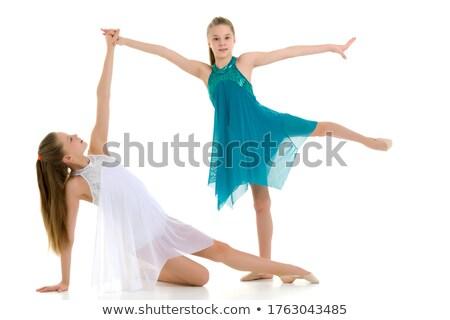 小さな 美しい バレリーナ ダンサー ダンス スタジオ ストックフォト © master1305