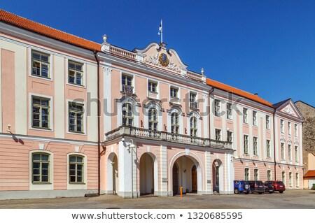 Estonian Parliament Stock photo © benkrut
