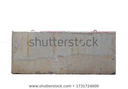 road and concrete barriers  Stock photo © OleksandrO
