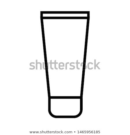 Cream Tube Icon Illustration design Stock photo © kiddaikiddee