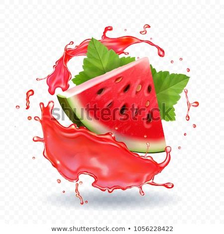 Dinnye bogyók étel háttér nyár reggeli Stock fotó © M-studio