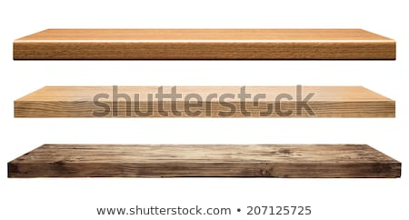 Wooden Shelf Photo stock © donatas1205
