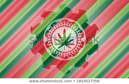 Navidad felicitación desgarrado rojo papel marco Foto stock © romvo