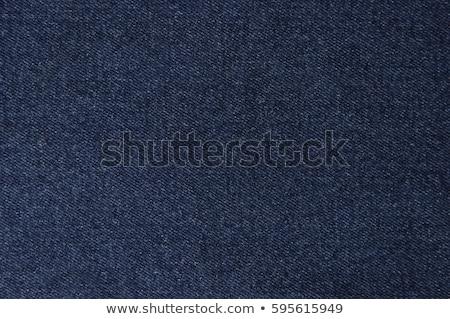 テクスチャ デニム ファブリック 抽象的な 青 ジーンズ ストックフォト © OleksandrO
