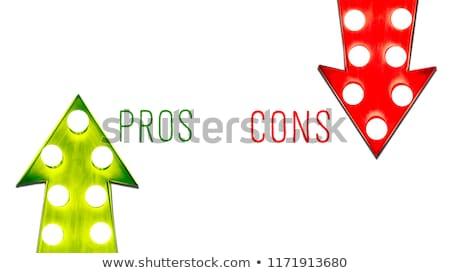 右 · 決定 · ビジネス · 小さな · ビジネス女性 - ストックフォト © rastudio
