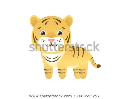 sevimli · küçük · kedi · yavrusu · karakter - stok fotoğraf © Loud-Mango