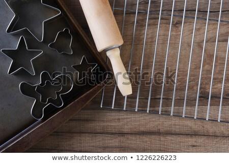 Görmek star biçim kurabiye soğutma Stok fotoğraf © wavebreak_media