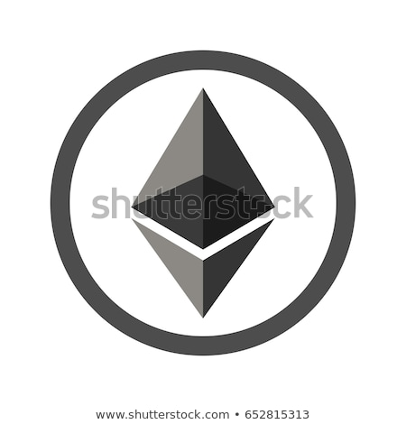 Ethereum Coin Flat Icon Stock photo © ahasoft
