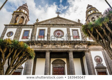 Katedrális LA Tenerife Kanári-szigetek Spanyolország város Stock fotó © benkrut