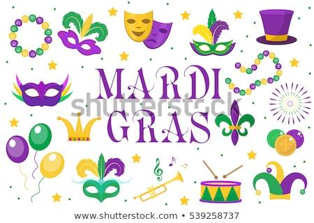 icon Mardi Gras Mask  Stock photo © Olena
