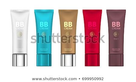 bianco · shampoo · bottiglia · vettore · vuota · realistico - foto d'archivio © frimufilms