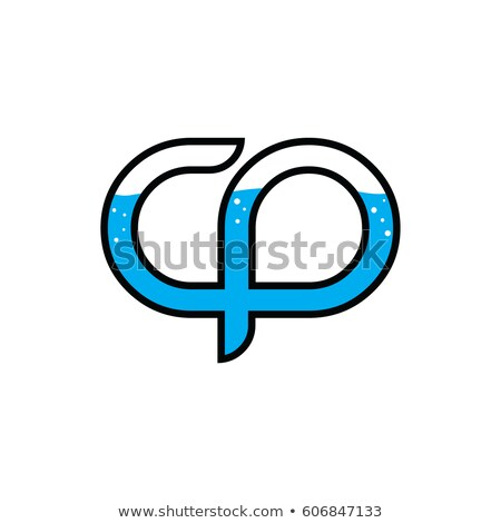 initial letter water liquid theme logotype logo template Stock photo © vector1st