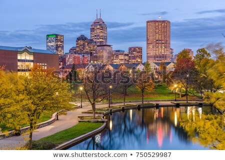 River Walk in Indianapolis Stock photo © benkrut
