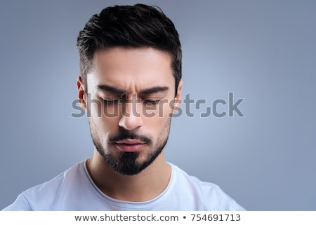 Young man with his eyes closed. Stock photo © IS2