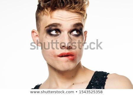 Férfi néz kamera divat háttér fekete Stock fotó © wavebreak_media
