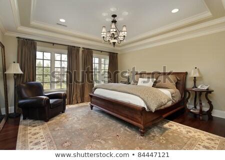 Mestre quarto interior lareira trenó Foto stock © iriana88w