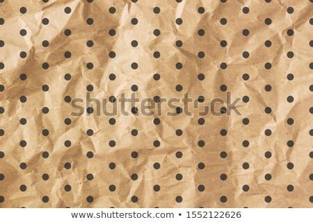 Marrón papel negro patrón resumen Foto stock © Zerbor