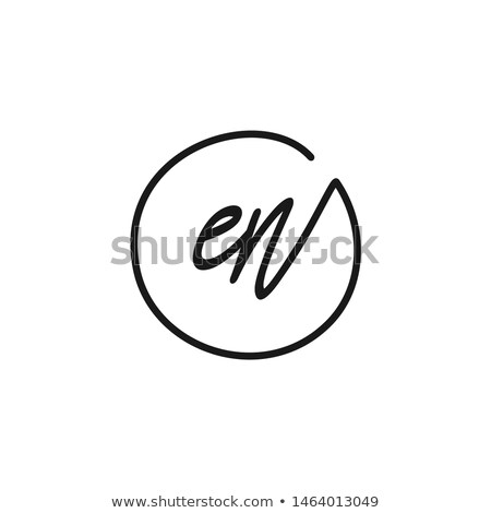 Alphabet letter E Stock photo © colematt