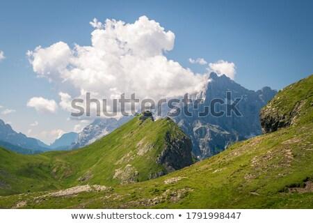 Bergen daglicht wolken noordelijk Italië licht Stockfoto © frimufilms