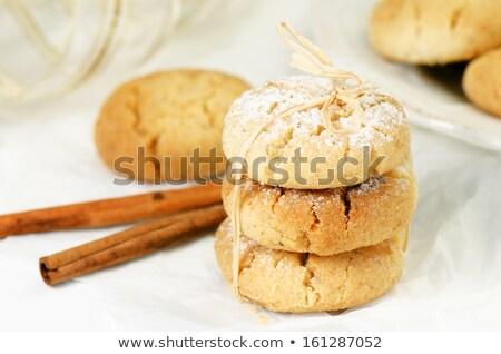 スペイン語 白 木板 食品 背景 甘い ストックフォト © Alex9500